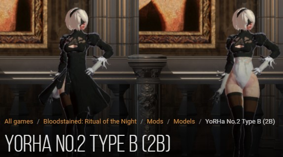 YoRHa No.2 Type B mod