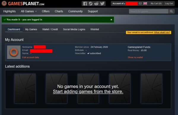 PCゲームキー販売サイト「Gamesplanet」の登録や買い方を図解入りで解説3