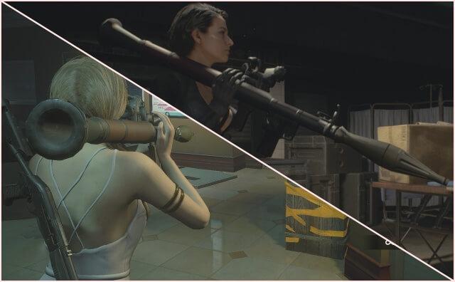 【RE:3】武器の見た目をいろいろ変更するModRPG-7