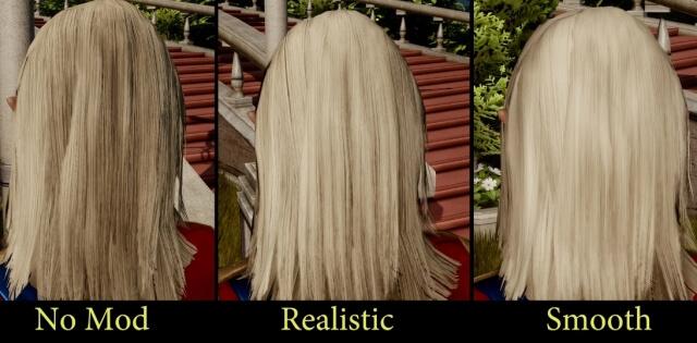 ドラゴンエイジインクイジション髪の毛リテクスチャMod
