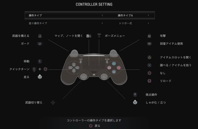 PS4ボタンの表示に変更するMod
