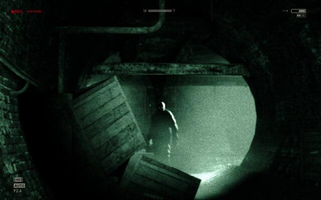 SteamおすすめホラーゲームOutlast